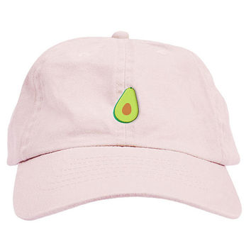 Avocado Dad Hat Baseball Cap Low Profile