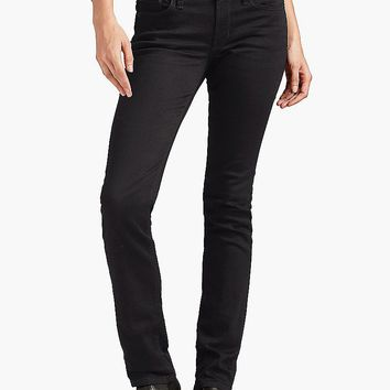 Lucky Brand Sweet Straight Womens Straight Jeans - Black Amber