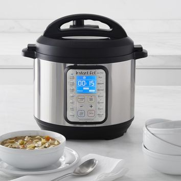 Instant Pot Duo Plus60 9-in-1 Multi-Use Programmable Pressure Cooker, 6-Qt.