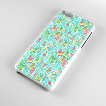 LILLY PULITZER SAILBOAT ALL iPhone 5c Case
