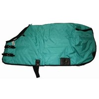 420D Medium Weight Horse Blanket Teal Green, 81""