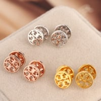 Tory Burch Fashion new fashion metal personality earring