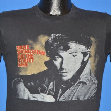 80s Bruce Springsteen E Street World Tour 1984-85 t-shirt Small