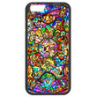 Disney All Characters Stained Glass Iphone 6 PLUS (5.5-inch) TPU Bumper Case