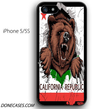 california republic 01 iPhone 5 / 5S Case