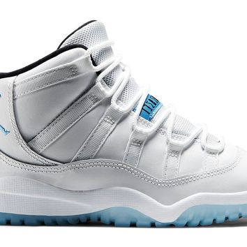 Jordan Retro 11 (Pre-School) Legend Blue