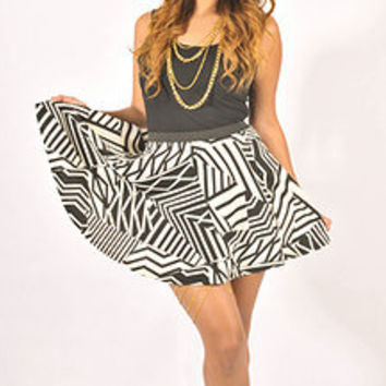 Tribal Skater Skirt