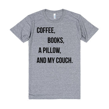 Coffee, Books, A Pillow, and My Couch
