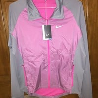 Nike Dri-FIT Running Golf Jacket Windbreaker Full Zip NWT Women's Small [S]