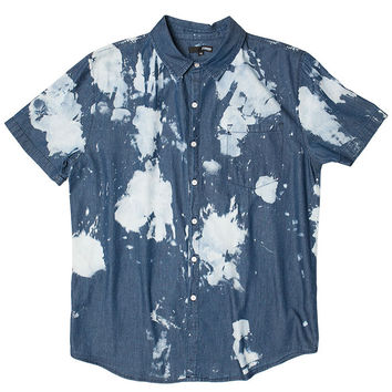 Bleach Spots S/S Denim Shirt
