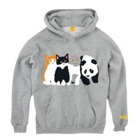 Enjoi Meow Meow Pullover Sweatshirt - Men's at CCS