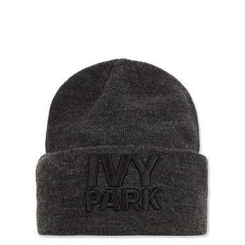 Thermal Logo Beanie by Ivy Park - Ivy Park - Clothing