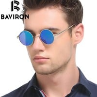 BAVIRON - Hippie Steampunk Sunglasses Male and Female Polaroid Lenses Glasses - Thin