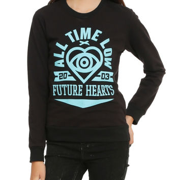 All Time Low Future Hearts Girls Pullover Top