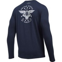 Under Armour Men's Freedom Eagle Tactical Long Sleeve Shirt| DICK'S Sporting Goods