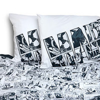 Exclusive Marvel Avengers Stripe Sheet Set