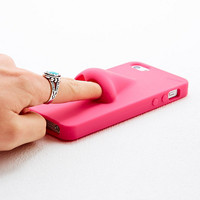 Nose iPhone 5 Case in Pink - Urban Outfitters