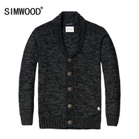 SIMWOOD 2017 new autumn  winter Cardigan men fashion casual sweater  fashion long sleeve brand clothing  MY2044