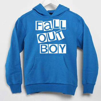 Fall Out Boy logo populer hoodie for mens and women by USA
