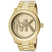 Michael Kors Quartz Gold-tone Bracelet Champagne Dial Ladies Watch