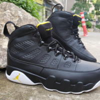 Air Jordan 9 Retro Black/Yellow