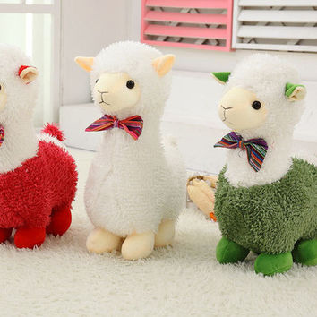 One Piece Unisex Super Soft Colorful Sheep Plush Toys