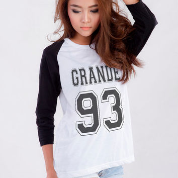 Ariana Grande T-Shirt for Teen Teenage Girls Teenager Blogger Tumblr Instagram Clothes Clothing Fashion Shirt Sweatshirt Birthday Gifts
