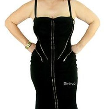Black Bandage Dress (Size Plus)