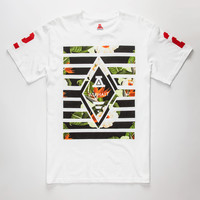 Ayc Forbidden Diamond Mens T-Shirt White  In Sizes