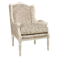 Cyrano Chair in Antico White Finish