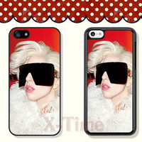 Lady GaGa, iPhone 5 case iPhone 5c case iPhone 5s case iPhone 4 case iPhone 4s case, Samsung Galaxy S3 \S4 Case --X51145