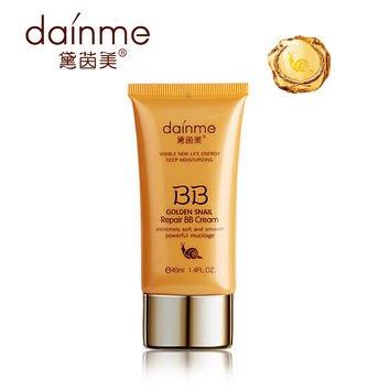 Brand Golden Makeup Snail Repair BB Cream 40m l&Shrink pores Concealer  Whitening Moisturizing BB Creams Foundation