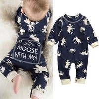 Baby Boy Lodge Themed Sleeper, Sizes 3 - 18 Months