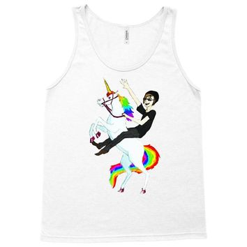 unicorn and human best friends Tank Top