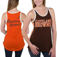 Cleveland Browns Women's Home Game Tank Top - Brown