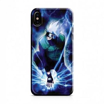 Naruto hatake kakashi iPhone X Case