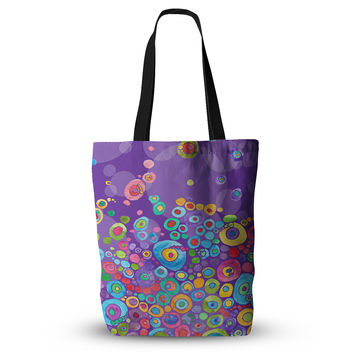 "Catherine Holcombe ""Inner Circle Purple"" Lavender Everything Tote Bag"