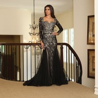 Plus Size Long Dress Formal Evening Party Gown