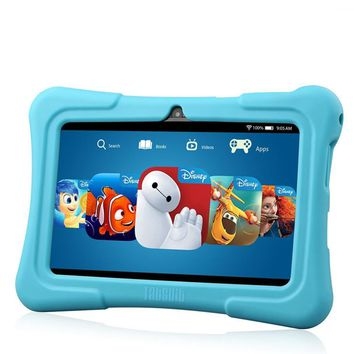 7'' Kids Tablet for Children Quad Core IPS Screen 1024*600 Android 5.1 1GB+8GB Wifi Babypad With Case