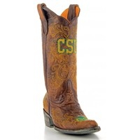 """Gameday Boots Womens 13"""" Leather Colorado State Cowboy Boots"""