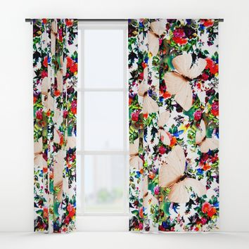 Alma Libre Window Curtains by Azima