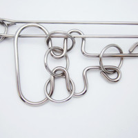Wire Metal Puzzle IQ Test Logic Game Mission Remove the Handle WITHOUT PLIERS :)