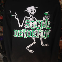 Social Distortion Sweatshirt/ Crew Neck