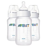 Item: Philips Avent BPA Free Classic 11 Ounce Polypropylene Bottles, 3-Pack