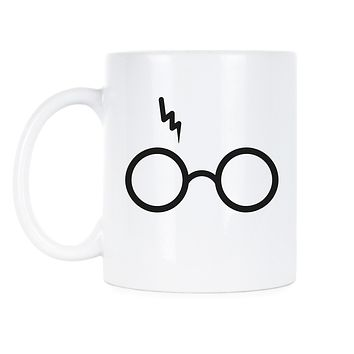 Glasses Harry Potter Gryffindor Sorting Hat Vinyl Decal Sticker Ideal for Mugs