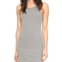 Rib Sheath Tank Dress