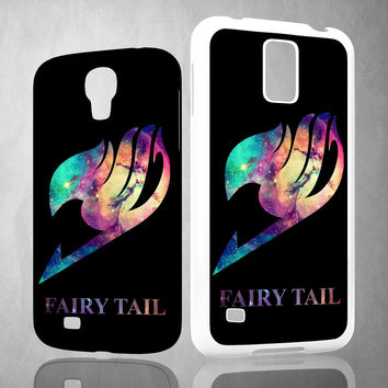 Fairy Tail Logo Galaxy Space Z0172 Samsung Galaxy S3 S4 S5 (Mini), Note 2 3 4, HTC One M7 M8 Cases