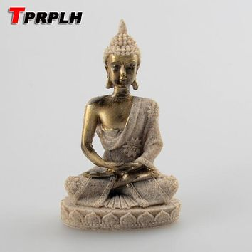 TPRPLH Thailand style feng shui resin buddha statue for home decoration novelty households craft CR14595620