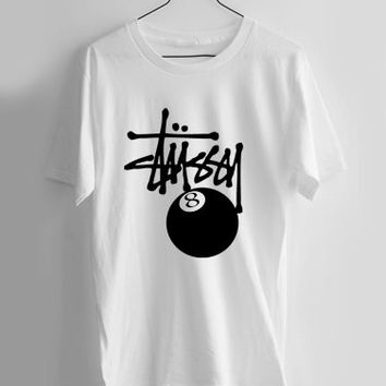 stussy feature the 8 ball T-shirt Men, Women and Youth