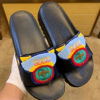 Gucci Fashion casual shoes with thick soles